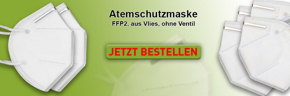 Atemschutzmaske FFP 2 aus Vlies ohne Ventil